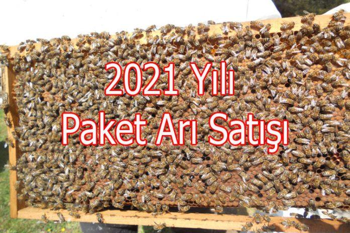 2021 paket arı satışı